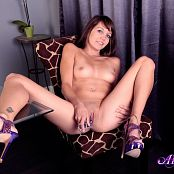 Andi Land Violet Erotica Picture Set