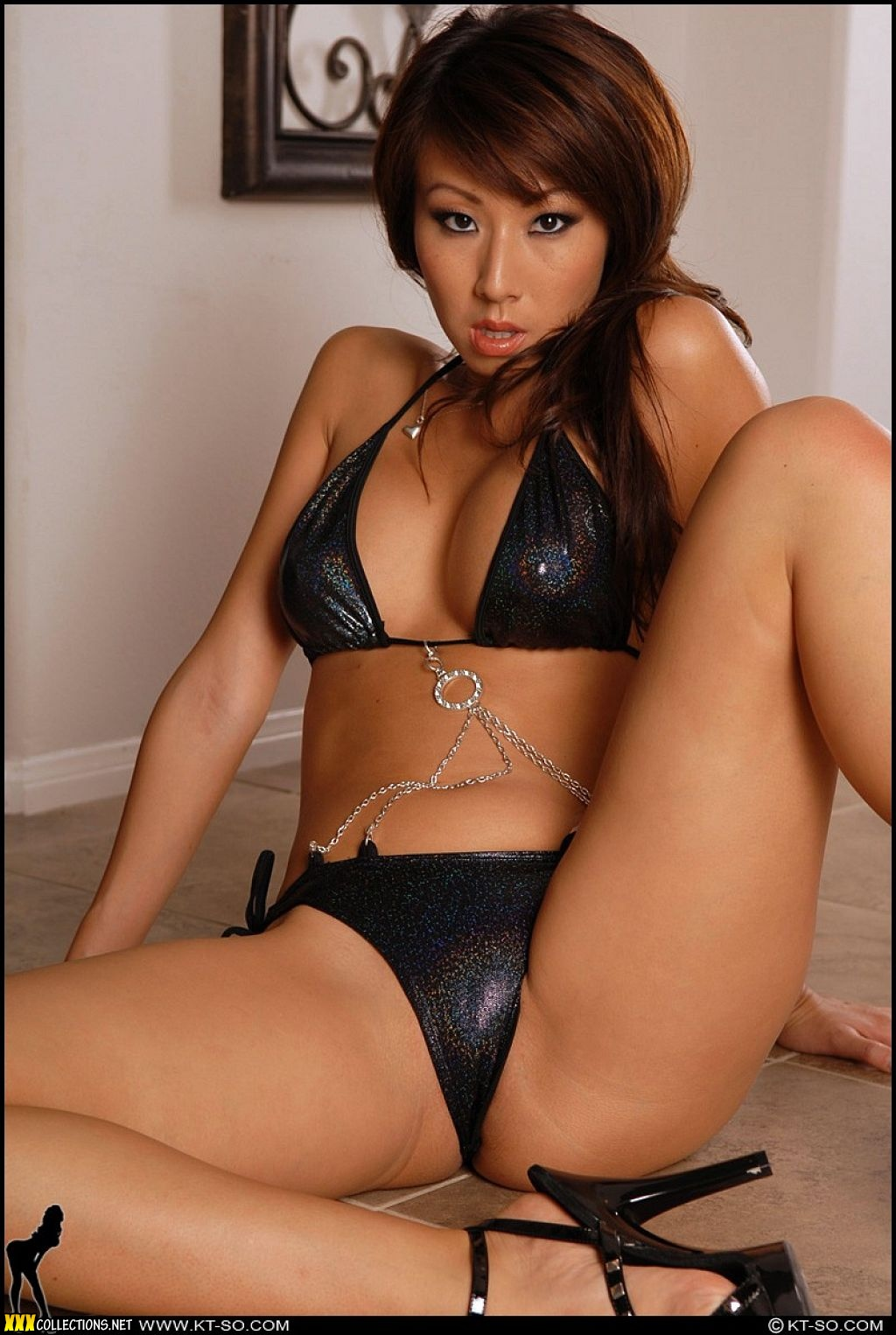 Was Sex bikini double shiney ebony sorry, that