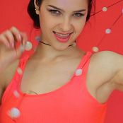 May Model Lady In Red HD Video