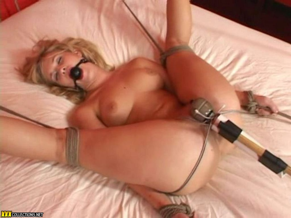 Tied gagged vibed