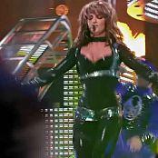 Britney Spears Onyx Hotel Tour Shiny Latex Spandex and PVC Parts new 200216 avi