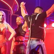 Britney Spears Live Sexy Red Dominatrix Outfit POM HD Video
