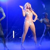 Britney Spears Work Bitch Live Sexy Sparkling Catsuit 2014 HD Video