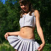 Sandra Orlow Schoolgirl Outfit 001