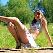 Sandra Orlow Schoolgirl Outfit 006