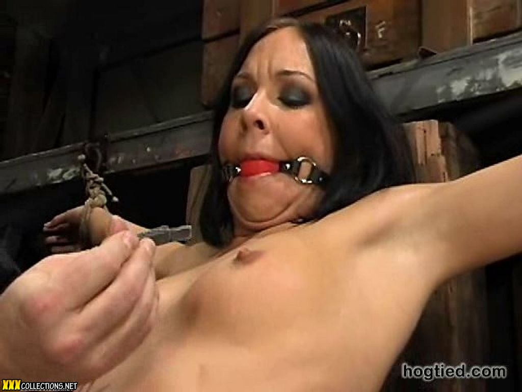 image Julie night tied up and gangbanged brutaly
