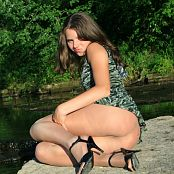 Fame Girls Sandra Green Camo Dress Picture Set 030