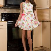 Brittany Marie Flower Apron 006