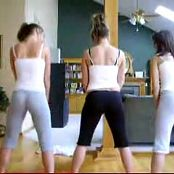 3 girls dance to booty bounce 130316 flv