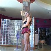 Rita Faltoyano Sexy Shiny Black Bikini Photoshoot Video