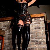 Nikki Sims Black Corset 006
