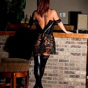 Nikki Sims Black Corset 007
