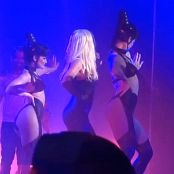 Britney Spears Slave 4 You and Do Somethin HD Black Latex Catsuit 2 new 090416 avi