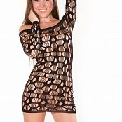 Brittany Marie Black Dress 004