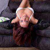 Nikki Sims Lounging Around 003