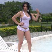 Alejandra Jimenez Getting Wet HD Video
