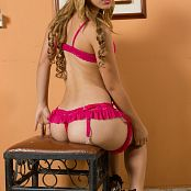 Luisa Henano Hot Pink Lace TeenBeautyFitness Set 250416 287