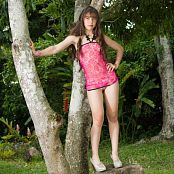 Angie Narango Outdoor Oriental Babydoll TeenBeautyFitness Set 058