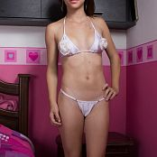 Mary Mendez Satin Roses Undies TeenBeautyFitness Set 240