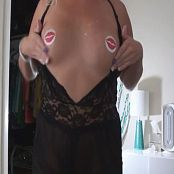 Kalee Carroll Black Lingerie Red Lip Pasties Dance new 010516 mp4