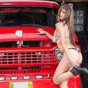 Diana Uribe Leopard Babydoll Modeling TeenBeautyFitness Set 11