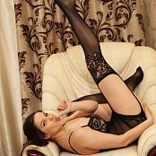 May Model Set 273 Black Lingerie 002
