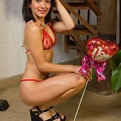 Laurita Vellas Red Valentine Underwear TeenBeautyFitness Set 06