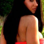 Kiera Sky Red Dress 081 030516 mp4