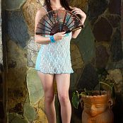 Mary Mendez Embroidered Pastel Babydoll TeenBeautyFitness 1096