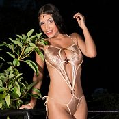 Luciana Model Golden Swimwear Photoset TeenBeautyFitness 0911