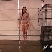 Nextdoornikki Caged Hosed Down Uncensored Video 006