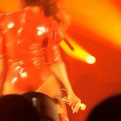Beyonce Red Latex Dress Live Georgia Dome HD Video