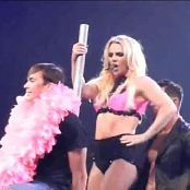 Britney Spears Rare Pink Outfit Pole Dance In Detroit HD Video