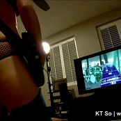 KTso Playing Guitar Hero With Fishnet And Pasties HD 100616 mp4