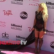 Britney Spears BMA 2016 Red Carpet 100616 mp4
