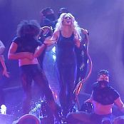 Britney Spears Slave 4 U Live Shiny Black Latex Dominatrix HD Video