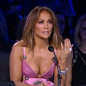 Jennifer Lopez Sexy Pink Cleavage HD Video