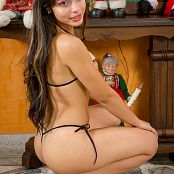 Sofy Arias Dressed for Christmas TeenBeautyFitness tbf 591 1581