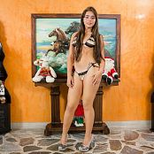 Sofy Arias Dressed for Christmas TeenBeautyFitness tbf 591 1585