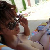 Ariel Rebel Chilling By The Pool 007