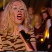 Christina Aguilera genie in a bottle Live 1999 totp 060716 mpg