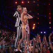 Miley Cyrus Live VMA 2013 Slutty Latex Outfit HD1080i 060716 mpg
