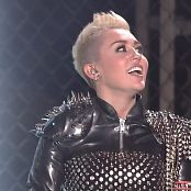 Miley Cyrus Live VH Divas Sexy Black Leather Outfit HD Video