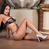 Luciana Model Beautiful In Black TBF 634 007