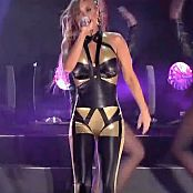 Carmen Electra Black & Gold Latex Catsuit Live HD Video