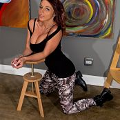 Nikki Sims Skull Pants 007