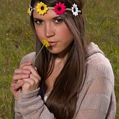 Brittany Marie Flower Headband 005