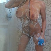 Gisele Soapy Shower 007