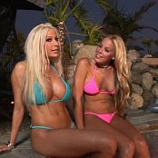 Gina Lynn & Nicole Sheridan Top Notch Bitches 5 DVDR & BTS Video
