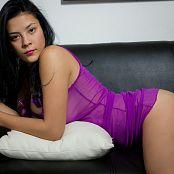 Andrea Restrepo Purple Lingerie tbf 637 002